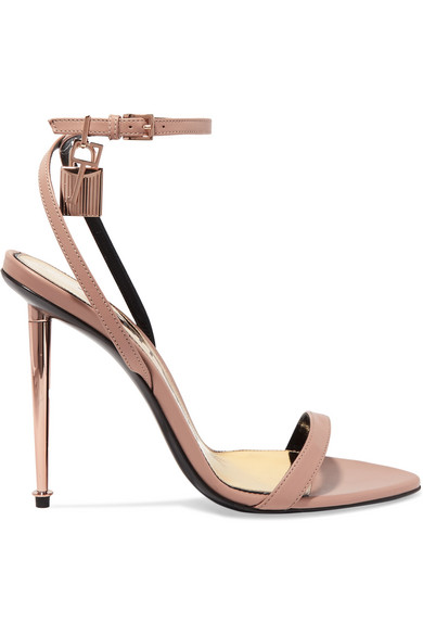 235d87658592 TOM FORD. Padlock leather sandals
