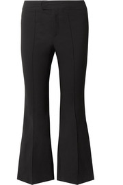 Nyree cropped cotton-blend flared pants