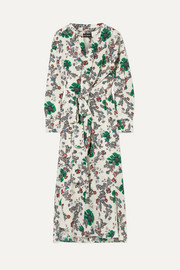 Isabel Marant Calypso floral-print silk-blend crepe de chine wrap dress