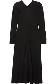 Isabel Marant Abi gathered crepe midi dress