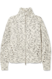 Isabel Marant Janet merino wool turtleneck jacket