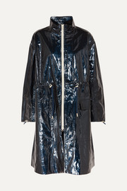 Isabel Marant Ensel coated cotton-blend raincoat