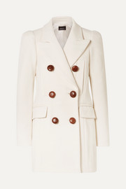 Isabel Marant Klea double-breasted cotton-blend twill coat