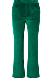 Isabel Marant Mereo cotton-corduroy straight-leg pants