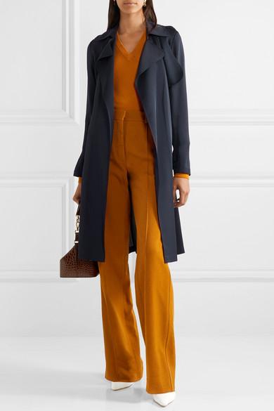 a8a73d03a8 Theory | Oaklane silk trench coat | NET-A-PORTER.COM