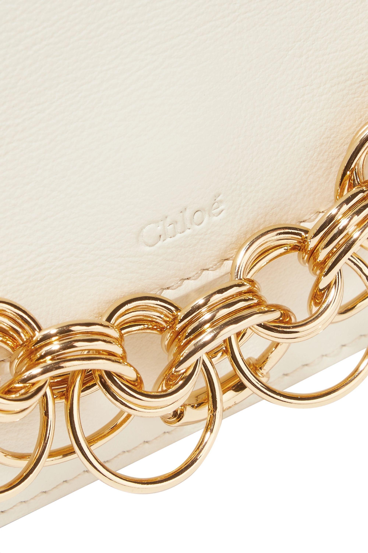 Chloé Drew Bijou leather clutch
