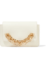 Chloé Drew Bijou leather clutch