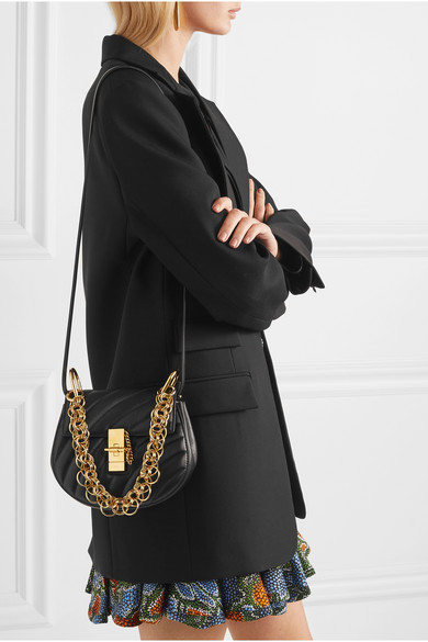 480bfbd3 Chloé   Drew Bijou mini quilted leather shoulder bag   NET-A-PORTER.COM
