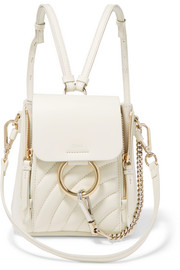 Chloé Faye mini quilted leather backpack