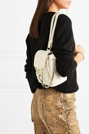 Faye mini quilted leather backpack
