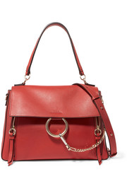 Chloé Faye Day large leather shoulder bag