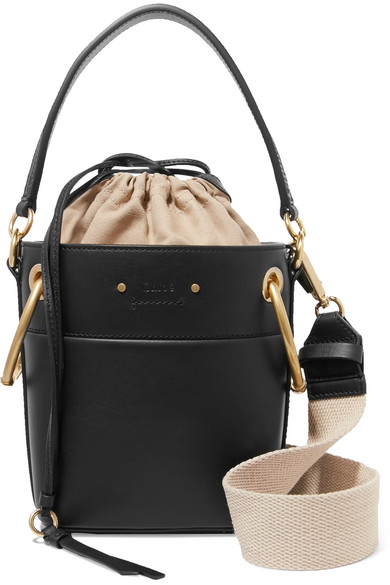 6fa1d8b62f6ed Chloé | Roy mini leather bucket bag | NET-A-PORTER.COM