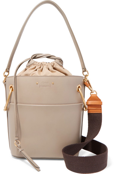 00fccd9cd49d1 Chloé | Roy small leather bucket bag | NET-A-PORTER.COM