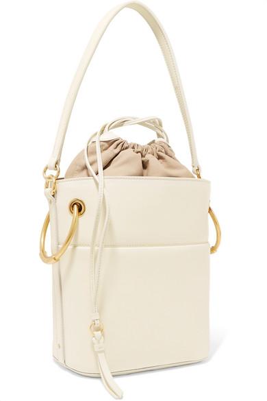 Chlo 233 Roy Small Leather Bucket Bag Net A Porter Com