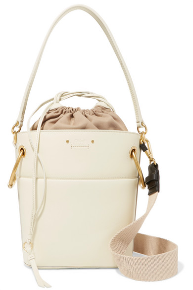 Sac seau en cuir Roy Small