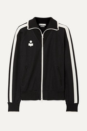 Isabel Marant Étoile Darcey striped jersey track jacket