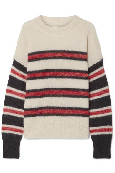 a6d9c4f561 Isabel Marant Étoile | Russell striped mohair-blend sweater | NET-A ...