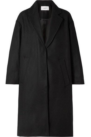 Isabel Marant Étoile - Cody Wool-blend Coat - Black
