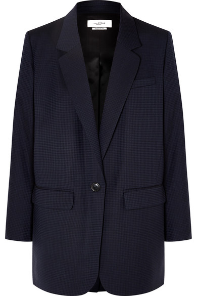 Nerix Houndstooth Wool Blazer by Isabel Marant Étoile