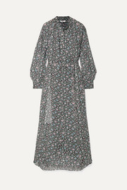 Joly printed georgette maxi dress
