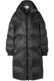 Cray quilted shell coat
