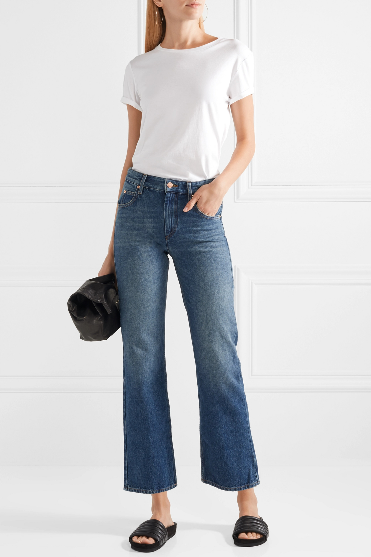 Isabel Marant Étoile Cholko mid-rise straight-leg jeans