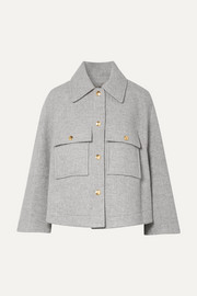 Chloé Oversized wool-blend jacket