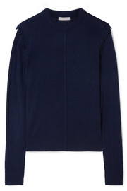 Chloé Scalloped wool sweater