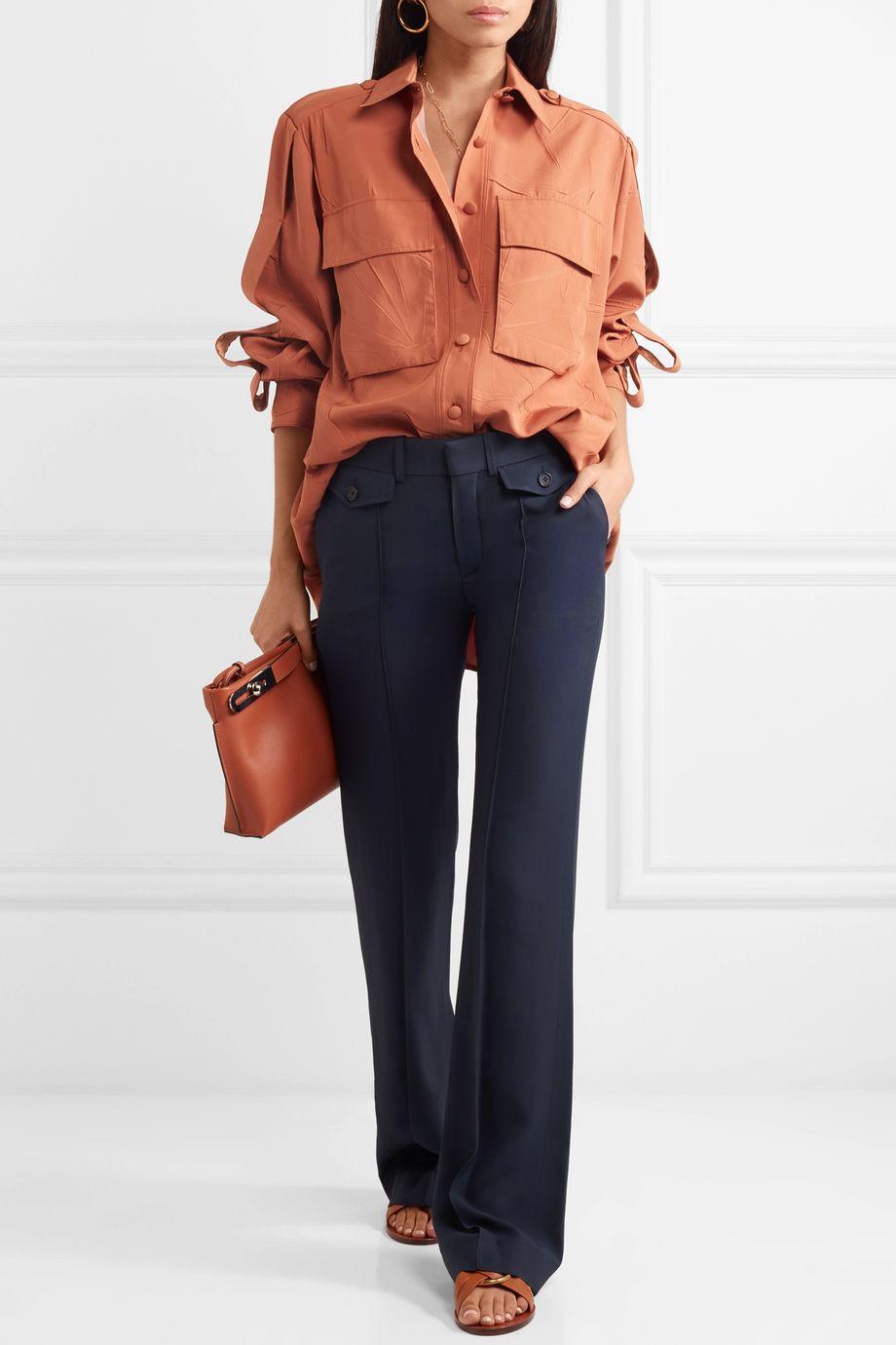Chloé Cady wide-leg pants