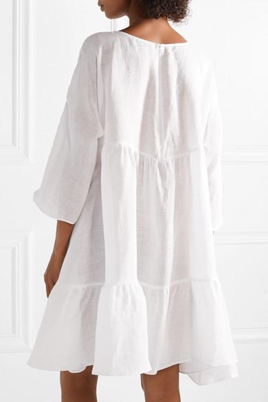 Tiered Linen Dresses