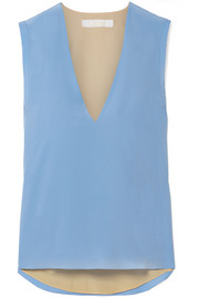 Chloé Silk crepe de chine top