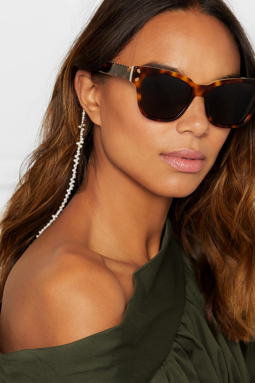 Lucy Folk Hang Loose pearl sunglasses chain
