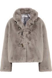 69ed8ed0608d Golden Goose Deluxe Brand Faux fur jacket · Golden Goose Deluxe Brand Agena faux  shearling-trimmed quilted shell jacket