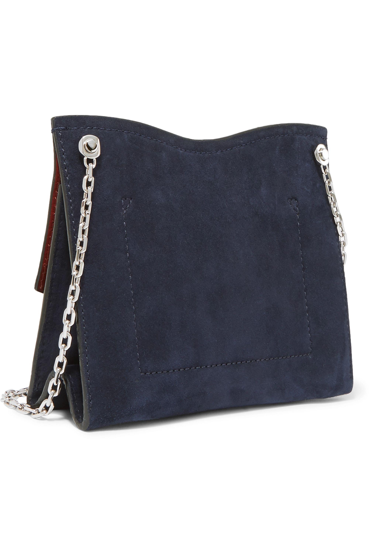 Proenza Schouler Curl small embellished suede shoulder bag