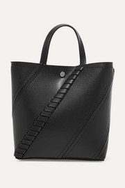 Proenza Schouler Hex paneled textured-leather tote