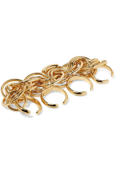 Chloé Reese Gold-tone Ring DeM8gopy