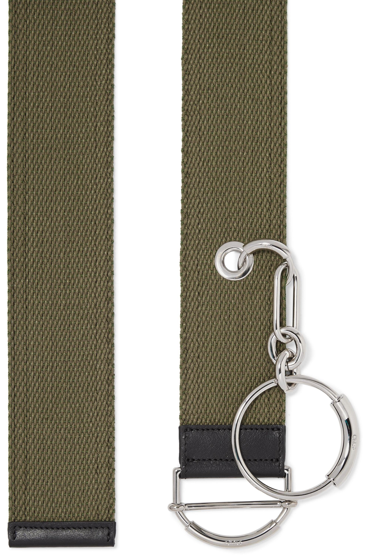 Chloé Embellished canvas waist belt