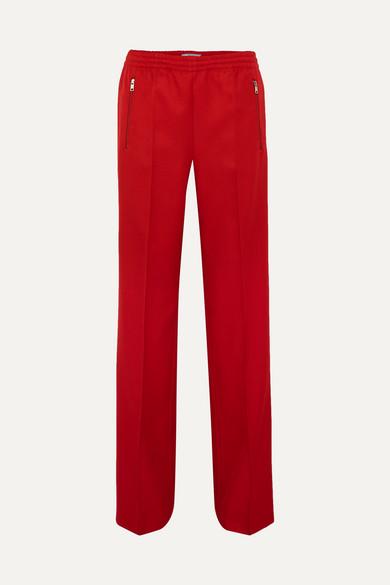 Prada - Gabardine Track Pants - Red
