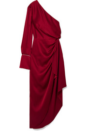 Monse One-shoulder satin gown
