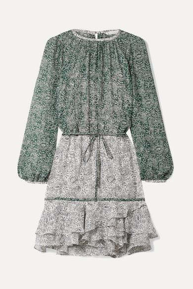 59aa612ee7f dorado-ruffled-floral-print-silk-chiffon-mini-dress by