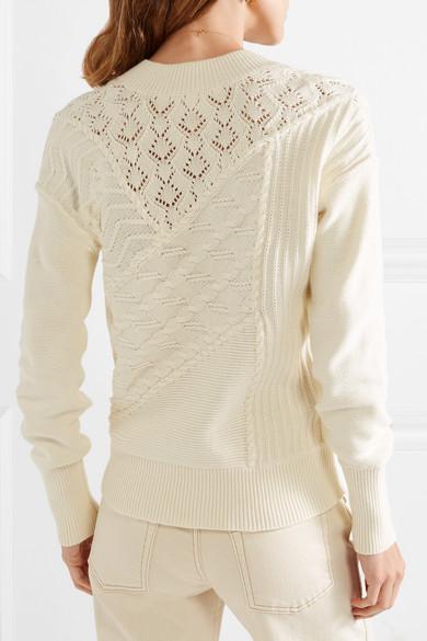 Dessa Cotton Sweater by Veronica Beard