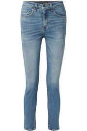 Veronica Beard Faye high-rise skinny jeans