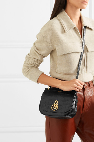 c8f4d89104 Amberley small croc-effect leather shoulder bag