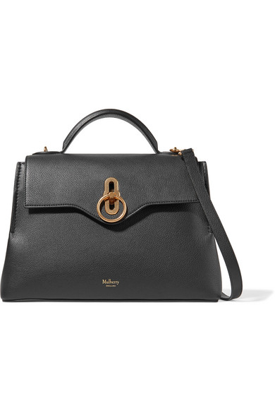 Mulberry Seaton small textured-leather shoulder bag