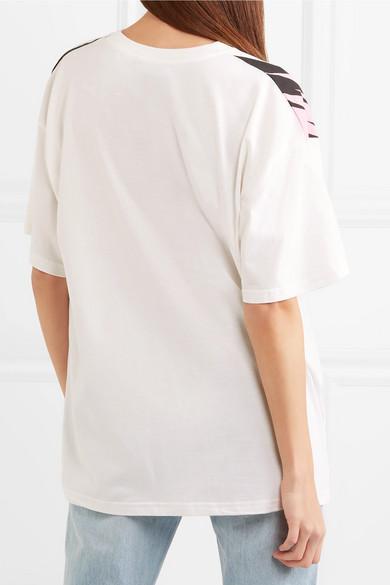 Moschino Bedrucktes Oversized-T-Shirt aus Baumwoll-Jersey