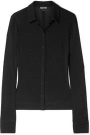 TOM FORD Stretch-jersey shirt