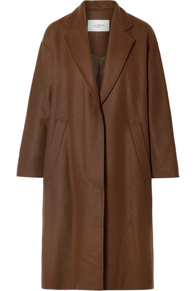 Cody Oversized Wool Blend Coat by Isabel Marant Étoile
