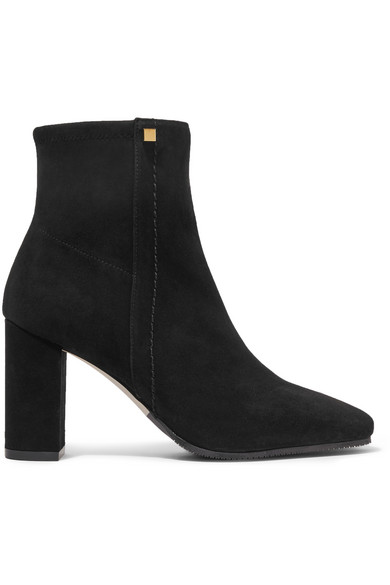 b9735351c21b Stuart Weitzman. Solo stretch-suede ankle boots