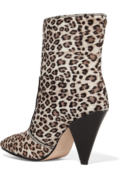 075faa8ec2ae Stuart Weitzman. Atomic West leopard-print calf hair ankle boots. £600.  Zoom In