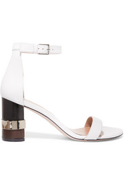 Saturn leather sandals